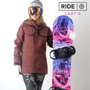 【5%還元】ライド スノーボード レディース ウェア 上下セット RIDE スノーボードウェア ジャケット パンツ スノボウェア スキー W'S SET-64|shop-hood