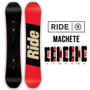 ライド スノーボード RIDE ボード MACHETE 17/18 149cm/ 152cm/ 155cm/ 158cm/ 161cm /157Wcm /161Wcm スノボ 板 0901 shop-hood