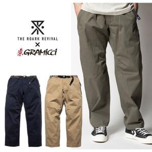【5%還元】ロアーク グラミチ コラボ パンツ クライミングパンツ メンズ ROARK RPJ520 ROARK× GRAMICCI TRAVEL Pant Relax Taped ワークパンツ ズボン|shop-hood