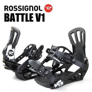 スノーボード ビンディング BATTLE V1 BK/WHITE RGF0013 ROSSIGNOL ロシニョール バトル スノボー バインディング snowboard ユニセックス