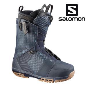 サロモン SALOMON スノーボードブーツ メンズ DIALOGUE ダイアログ BL/BL GUM/BL スノボ用