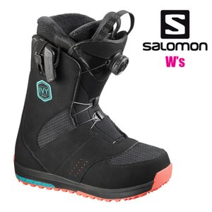 サロモン SALOMON スノーボードブーツ レディース IVY BOA アイヴィ BK/T.BL/...