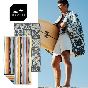 スロータイド ビーチタオル バスタオル SLOWTIDE WOVEN TOWELS 40*70 タオル [0415]|shop-hood