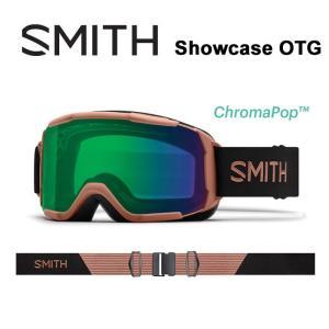 スミス ゴーグル 眼鏡対応 球面レンズ レディース SMITH SHOWCASE CHAMPAGNE CEG クロマポップレンズ スノーボード スノボ スキー goggle [0904] shop-hood