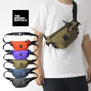 【5%還元】ブラウンバッファロー ウエストバッグ The Brown Buffalo [ SUPPLYSLING ] ウエストポーチ [0901]|shop-hood