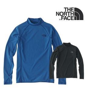 【5%還元】ノースフェイス ラッシュガード 長袖Tシャツ レディース THE NORTH FACE L/S WATERSIDE RASH 長袖 水着 NTW11843 0401 メール便northface|shop-hood