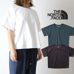 【5%還元】ノースフェイス レディース Tシャツ カットソー 半袖 THE NORTH FACE NTW11763 T-LOUNGE S/S TEE northface メール便 0420【Y】|shop-hood