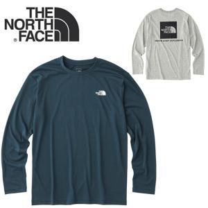 ノースフェイス ロンT 長袖 THE NORTH FACE NT81743 L/S SQUARE LOGO TEE Tシャツ トップス 長袖Tシャツ  [メール便][0802]|shop-hood