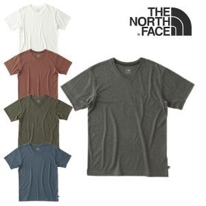 ノースフェイス 半袖 Tシャツ Vネック THE NORTH FACE NT61716 S/S MERINO V-NECK メリノ 半袖Tシャツ カットソー VネックTシャツ メール便  [0304]|shop-hood