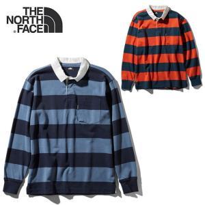 ノースフェイス ラガーシャツ 長袖 THE NORTH FACE NT11931 L/S CLIMB RUGBY SH ラグビーシャツ 長袖シャツ  [0316]|shop-hood