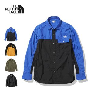 ノースフェイス ヌプシシャツ 長袖 シャツ メンズ THE NORTH FACE NR11961 L/S NUPTSE SHIRT 長袖シャツ アウター [0316]|shop-hood