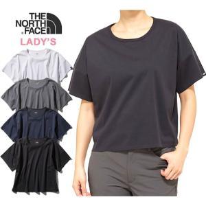 ノースフェイス Tシャツ 半袖 レディース Tシャツ THE NORTH FACE NTW11963 T-LOUNGE S/S TEE テックラウンジショートスリーブティー 半袖Tシャツ   [メール便]|shop-hood