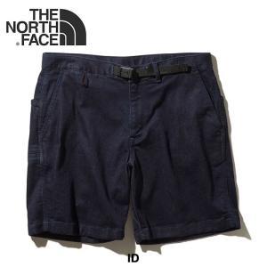 【5%還元】ノースフェイス ショートパンツ パンツ デニム メンズ THE NORTH FACE NB41938 プログレッションクライミングデニムショーツ|shop-hood