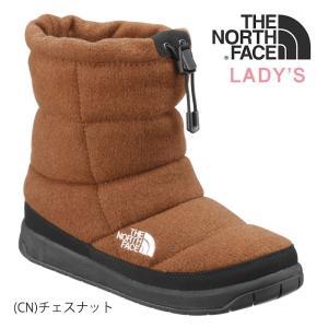 ノースフェイス レディース ウインターブーツ ヌプシブーティーウール THE NORTH FACE [ NFW51878 ] W NUPTSE BOOTIE WOOL [0801]|shop-hood