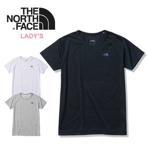 ノースフェイス Tシャツ レディース 半袖 THE NORTHFACE NTW32015 S/S SMALL Half Dome Logo Tee 半袖Tシャツ 白 黒 グレー メール便  0615 shop-hood