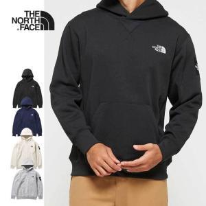ノースフェイス パーカー フーディ メンズ  THE NORTH FACE NT62039 SQUARE LOGO HOODIE スクエアロゴフーディ プルオーバー 黒 紺 グレー [200929] shop-hood