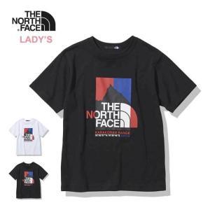 ノースフェイス レディース Tシャツ 半袖 THE NORTH FACE NTW32132 S/S Karakoram Range Tee カラコラムレンジティー メール便 [210217] shop-hood