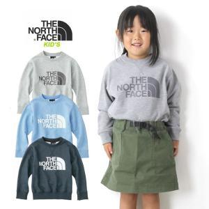 【5%還元】ノースフェイス キッズ 子供 スウェット トレーナー THE NORTHFACE Sweat Logo Crew NTJ11721 スウェットロゴクルー 子供服|shop-hood