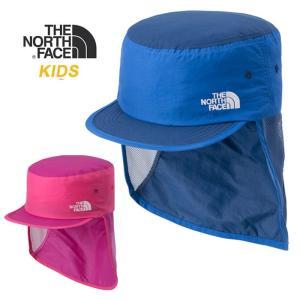 【5%還元】ノースフェイス キッズ 子供 帽子 キャップ THE NORTH FACE K SUNSHIELD CAP 日よけ ハット ベビー NNJ01806 northface 0305|shop-hood