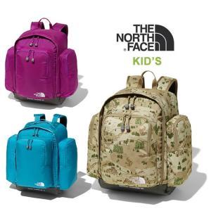 【5%還元】ノースフェイス キッズ リュック 子供 バックパック リュックサック 鞄 THE NORTH FACE NMJ71800 K SUNNY CAMPER 30 northface 0420|shop-hood