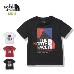 ノースフェイス キッズ Tシャツ 子供 THE NORTH FACE NTJ12137 S/S KARAKORAM TEE 子供 メール便 [210217] shop-hood
