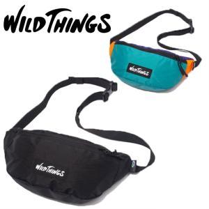 ワイルドシングス ウエストバッグ ボディバッグ WILD THINGS WT-380-0075 X-PAC ウエストポーチ ヒップバッグ カバン|shop-hood