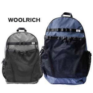 【5%還元】ウールリッチ デイパック リュック カバン Woolrich NOBAG1938 PSTOP X MESH PACK バックパック リュックサック 鞄|shop-hood
