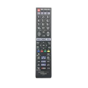 日立 純正テレビリモコン C-RS4代替リモコン HITACHI Wooo<C-RT1>