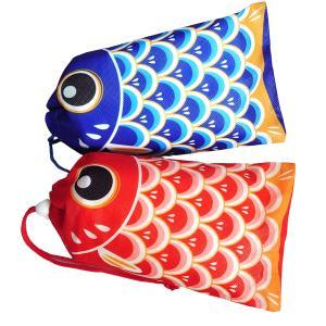 こいのぼり 巾着 (赤)・(青) ※50枚入(10枚入×5袋)|shop-inaseya