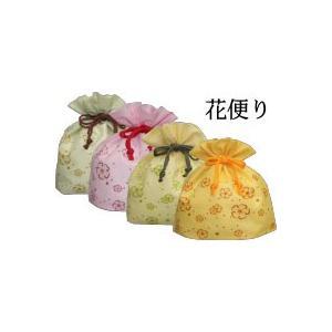 不織布巾着「花便り」 ※25枚入|shop-inaseya