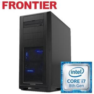 デスクトップパソコン [Windows10 Core i7-8700K 8GBメモリ250GB SSD] FRGBZ370ML/E1 FRONTIER 新品 FRPC
