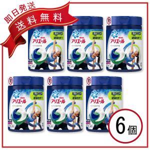 アリエール プラチナスポーツ ジェルボール 洗濯洗剤 本体 14個入×6個