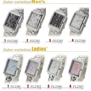 ペアウォッチ 腕時計 フォーエバー 天然ダイヤ1石 ペア腕時計 プレゼント メンズ レディースウォッチ デザインウォッチ|shop-k-yu|02
