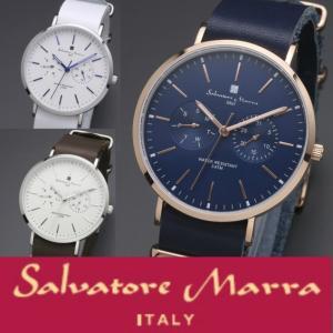 腕時計 レディース腕時計 メンズ腕時計 カレンダー 人気 サルバトーレマーラ ユニセックスモデル 送...