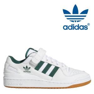 アディダス adidas オリジナルス Originals フォーラム ロー FORUM LO AQ1261メンズ スニーカー ホワイト 白 グリーン 緑|shop-kandj