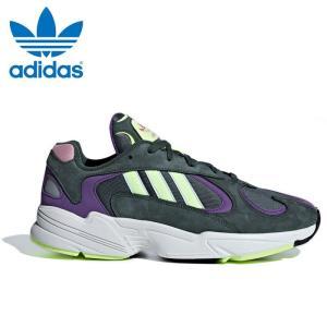 送料無料 アディダス オリジナルス ヤング 1 メンズ スニーカー ダッドシューズ ダッドスニーカー 靴 紺 ネイビー adidas originals YUNG 1 BD7655|shop-kandj