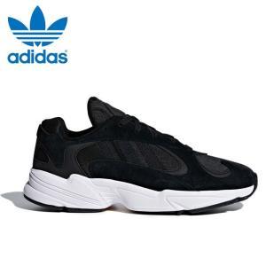 送料無料 アディダス オリジナルス ヤング 1 メンズ スニーカー ダッドシューズ ダッドスニーカー 靴 黒 ブラック adidas originals YUNG 1 CG7121 送料無料|shop-kandj