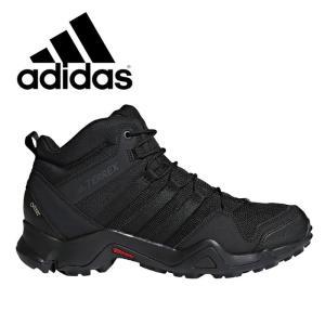 アディダス テレックス メンズ トレイルシューズ トレッキング ブーツ スニーカー ハイキング 登山 アウトドア adidas TERREX AX2R MID GTX CM7697 父の日...