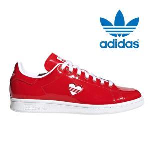 アディダス オリジナルス スタンスミス ハートマーク ウィメンズ レディース メンズ スニーカー ホワイト レッド adidas originals STAN SMITH W G28136|shop-kandj