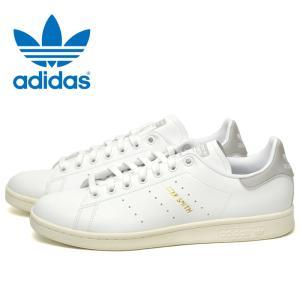 アディダス オリジナルス スタンスミス メンズ レディーススニーカー クリアグラナイト 白 ホワイト グレー adidas STAN SMITH S75075|shop-kandj