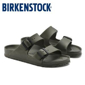 ビルケンシュトック Birkenstock アリゾナ EVA レディース メンズ サンダル カーキ KHAKI 軽量 洗える コンフォート 2本ベルト ARIZONA EVA shop-kandj