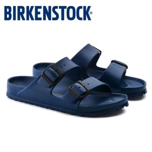 ビルケンシュトック Birkenstock アリゾナ EVA レディース メンズ サンダル 紺 ネイビー 軽量 洗える コンフォートサンダル 2本ベルト Birkenstock|shop-kandj