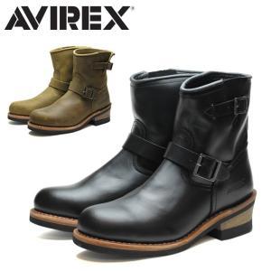 アビレックス AVIREX ホーネット AV2225 ブーツ ブラック 黒 ベージュ メンズ レディース ウィメンズ 正規品 アヴィレックス ショート エンジニアブーツ ワーク|shop-kandj