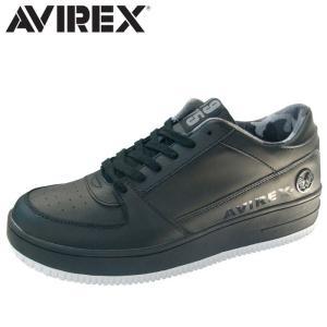 アヴィレックス AVIREX スニーカー ローカット メンズ レディース BLACK TORNADO shop-kandj
