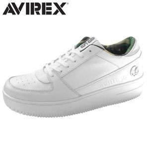 アヴィレックス AVIREX スニーカー ローカット メンズ レディース WHITE TORNADO shop-kandj