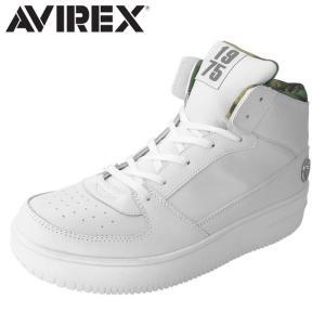 アヴィレックス AVIREX ブーツスニーカー スニーカー ミッドカット メンズ レディース WHITE_CAMO TORNADO MID shop-kandj
