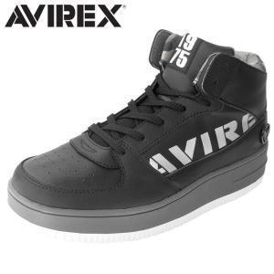 アヴィレックス AVIREX ブーツスニーカー スニーカー ミッドカット メンズ レディース BLACK_SILVER TORNADO MID shop-kandj