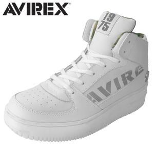 アヴィレックス AVIREX ブーツスニーカー スニーカー ミッドカット メンズ レディース WHITE_SILVER TORNADO MID shop-kandj
