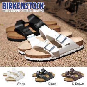 ビルケンシュトック Birkenstock アリゾナ サンダル レディース メンズ ARIZONA 白 ホワイト 黒 ブラック 茶 ブラウン ビルケン 幅広|shop-kandj