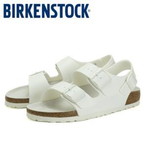 ビルケンシュトック Birkenstock ミラノ 1008074 サンダル コンフォートサンダル レディース メンズ 白 ホワイト MILANO ストラップ 靴|shop-kandj